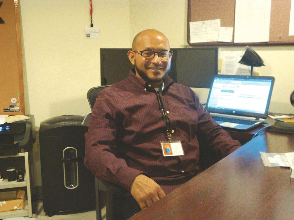 Pedro Alvarez, syringe access program manager at Tapestry Health