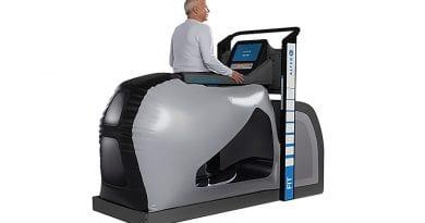 AlterG is an anti-gravitational treadmill