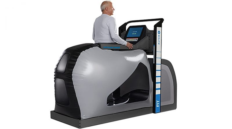 AlterG is an anti-gravitational treadmill